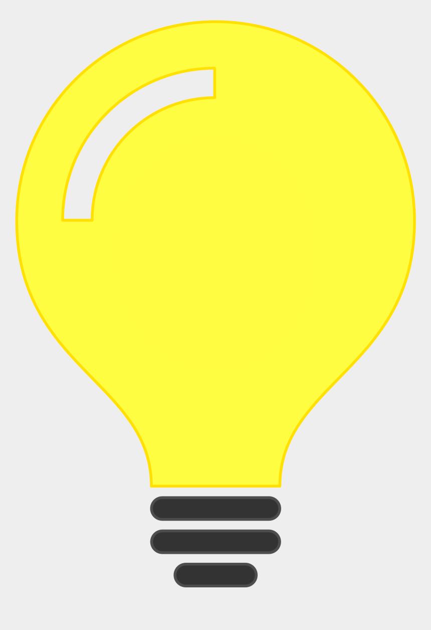 horizon clipart, Cartoons - Idea Clipart Lighting Bulb - Light Bulb Png Minimalist
