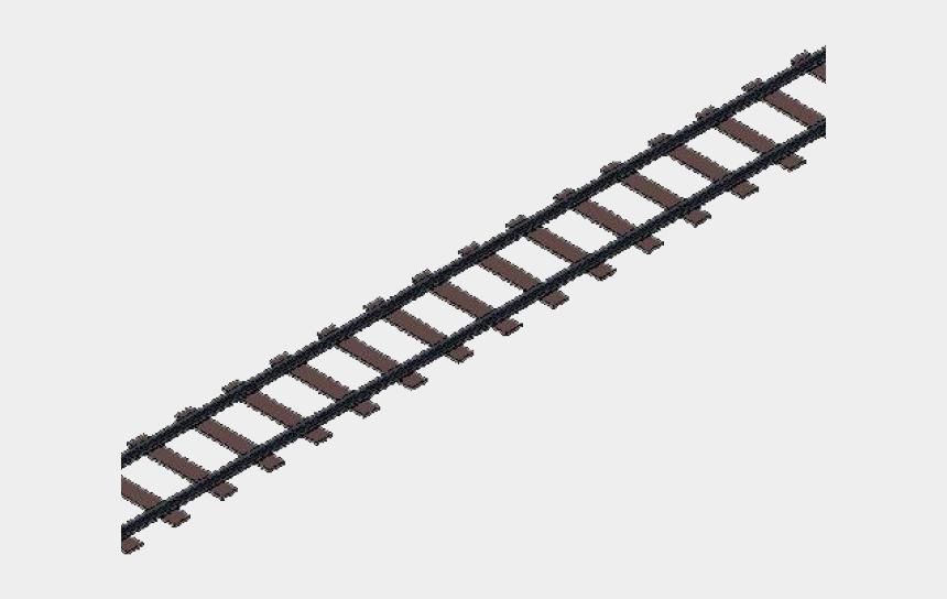 railroad crossing clipart, Cartoons - Railroad Tracks Clipart - Train Track Png