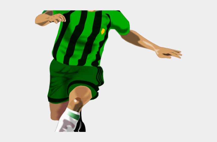 football players clipart, Cartoons - Animated Soccer Player Png