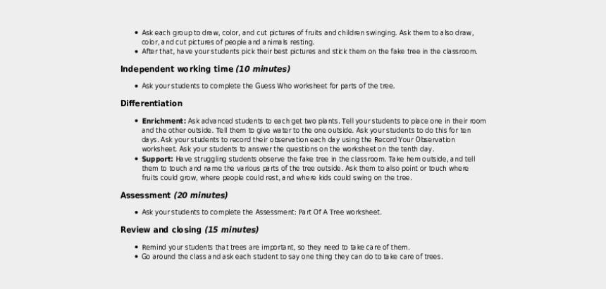 teacher apple clipart black and white, Cartoons - Trees, Trees Everywhere - 5th Grade Social Studies Lesson Plans