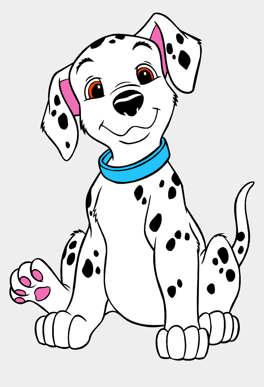 photograph regarding Dalmation Printable called Dalmatian Clipart Hearth Hat - 101 Dalmatians Coloring Webpages