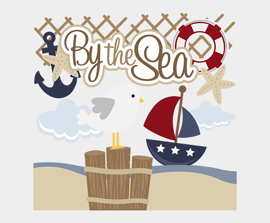 seagulls clipart, Cartoons - By The Sea Svg Files For Scrapbooking Paper Crafting - Scrapbooking Paper Seagull