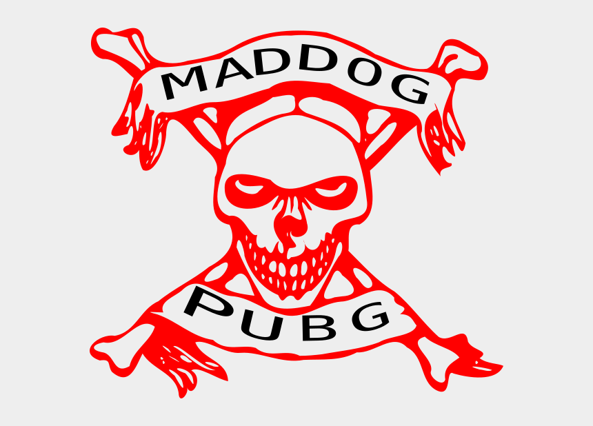 mad dog clipart, Cartoons - Skulls With Crossbones Coloring Pages