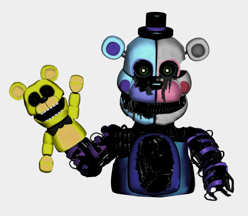 fnaf clipart, Cartoons - Freddy Golden Ucn F-naf - Fnaf Funtime Freddy Mask