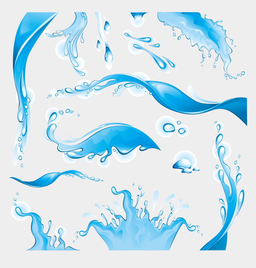 water drop splash clipart, Cartoons - Splash Clipart Dolphin Splash - Брызги Воды Вектор