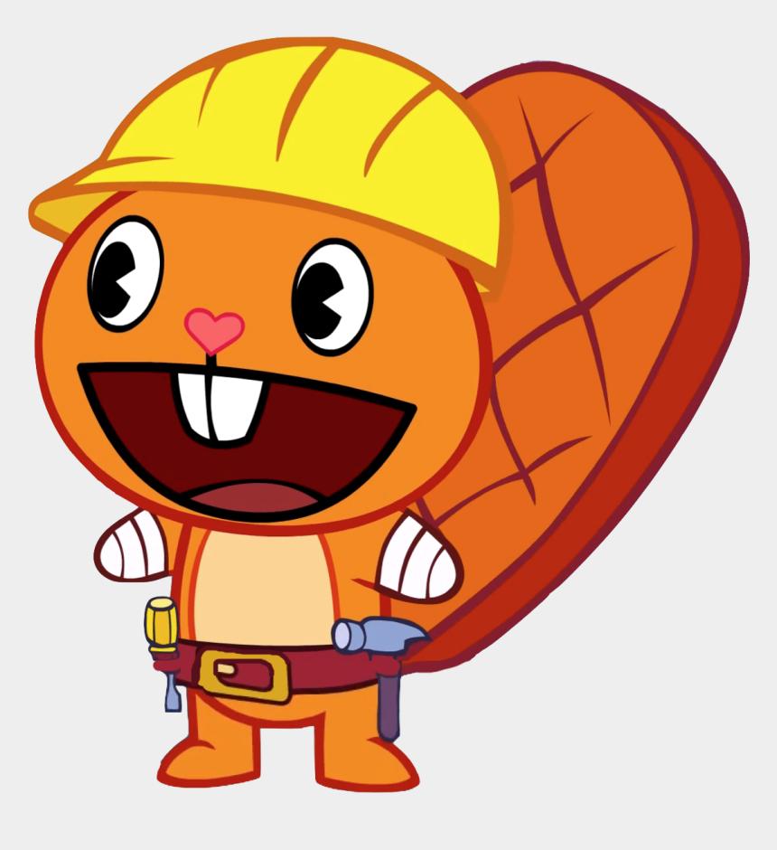 Characters Happy Tree Friends, Cliparts & Cartoons - Jing fm