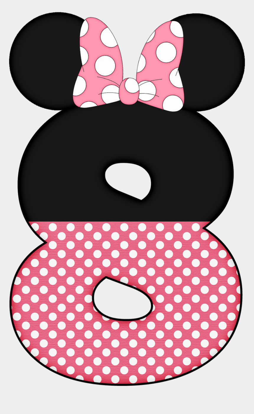 minnie head clipart, Cartoons - Minnie Mouse Number 9