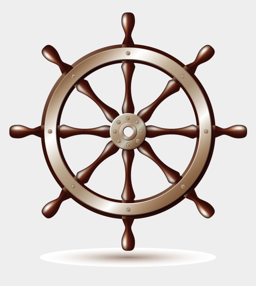 ships wheel clipart, Cartoons - S Wheel Boat Art Themes Transprent Png - Ship Wheel