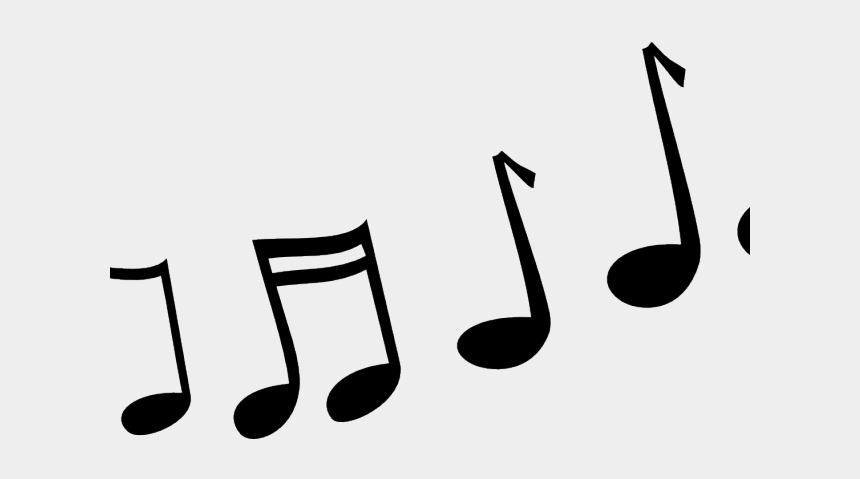 wavy music staff clipart, Cartoons - Musical Melody Cliparts - Music Notes Cartoon Png