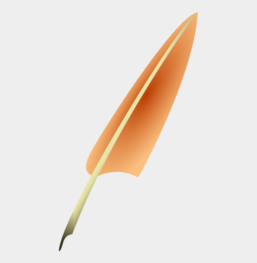 feather pen clipart, Cartoons - Quill