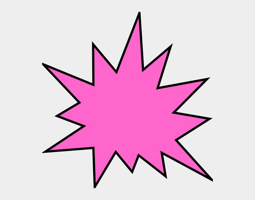star burst clipart, Cartoons - Burst Star