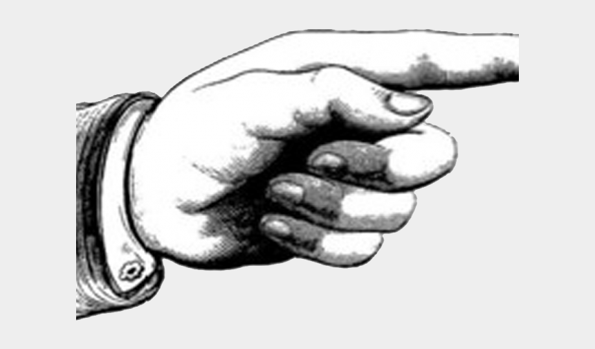point finger clipart, Cartoons - Steampunk Clipart Finger Point - Index Finger