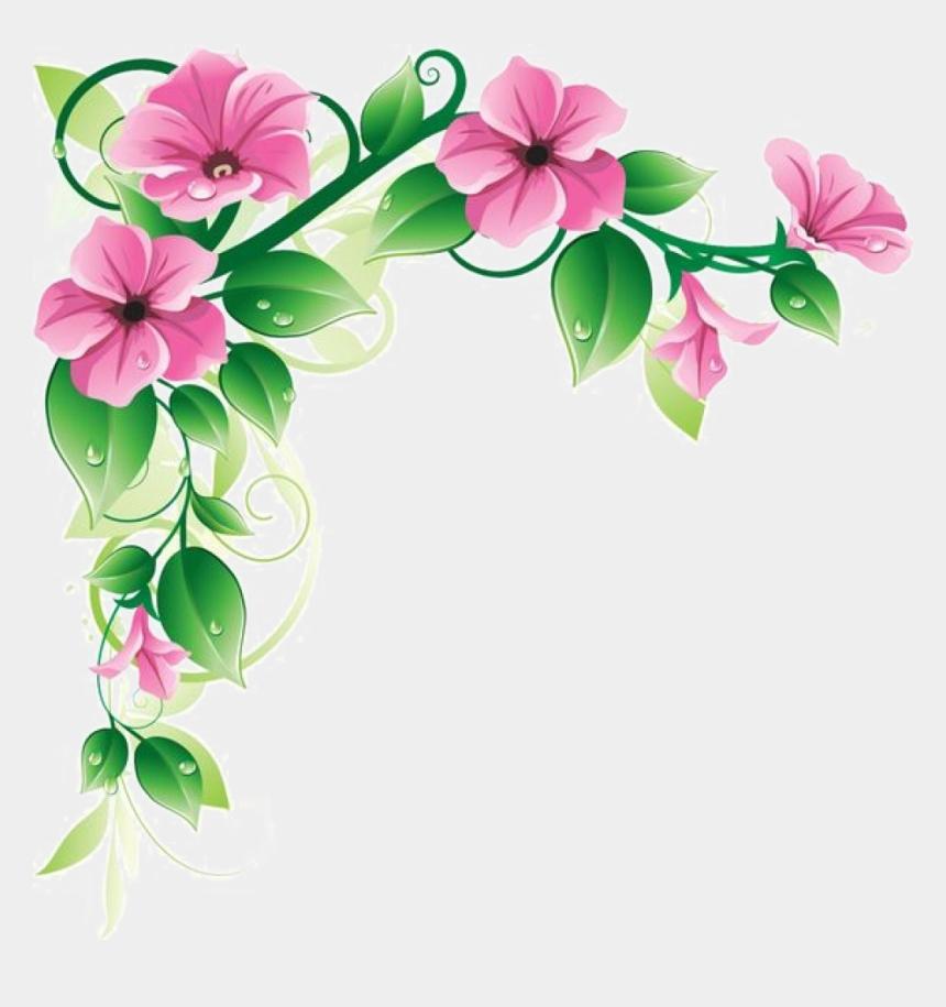 oval frame clipart, Cartoons - Fl Clipart Oval Frame Oval Flower Frame Png Transpa - Corner Flower Design Png