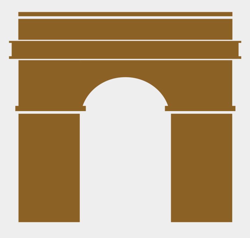 arc de triomphe clipart, Cartoons - Arc De Triomphe De L'étoile Icon - Arc De Triomphe Logo