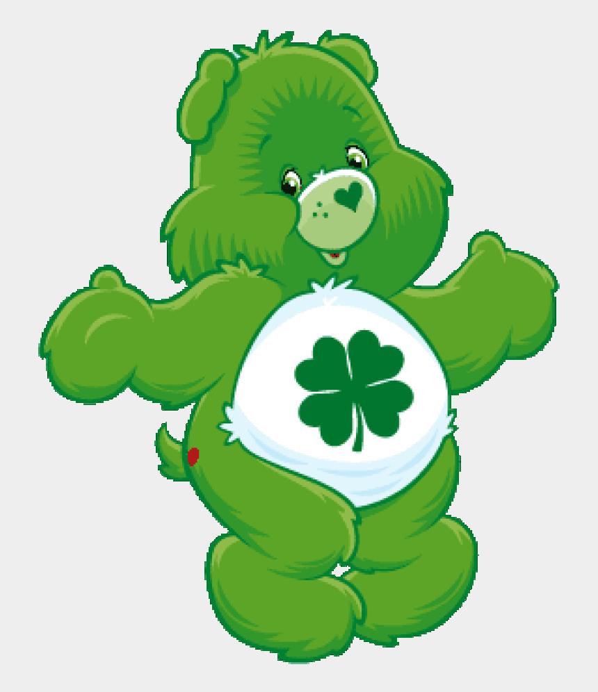 care clipart, Cartoons - Care Bear Png - Green Care Bear Png