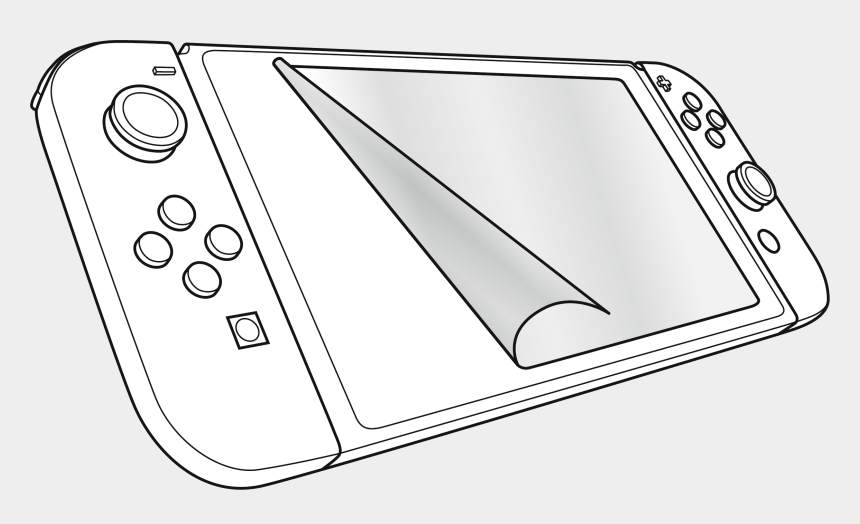 Video Game Nintendo Switch Coloring Page, Printable - Nintendo Switch Colouring  Pages, Cliparts & Cartoons - Jing.fm
