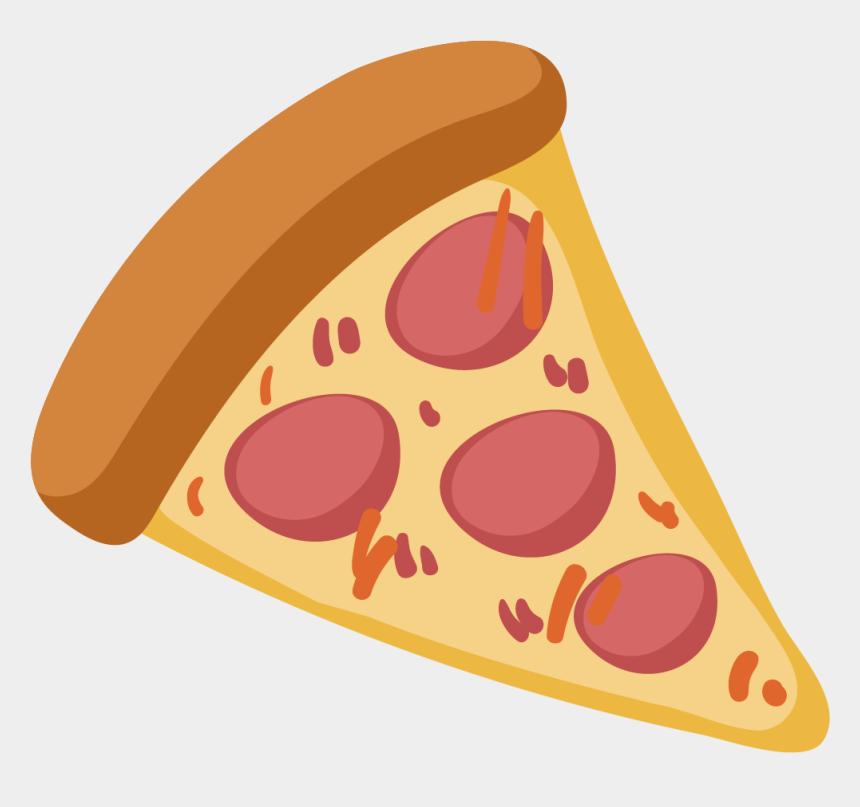 pepperoni clipart, Cartoons - Pizza Fast Food Italian Cuisine - Comida Rapida Pizza Png