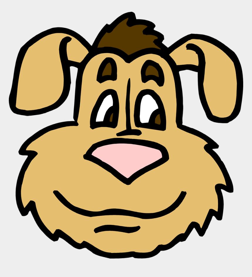 cute dog face clipart, Cartoons - Cartoon Dog Face Clip Art Download - Dog Head Coloring
