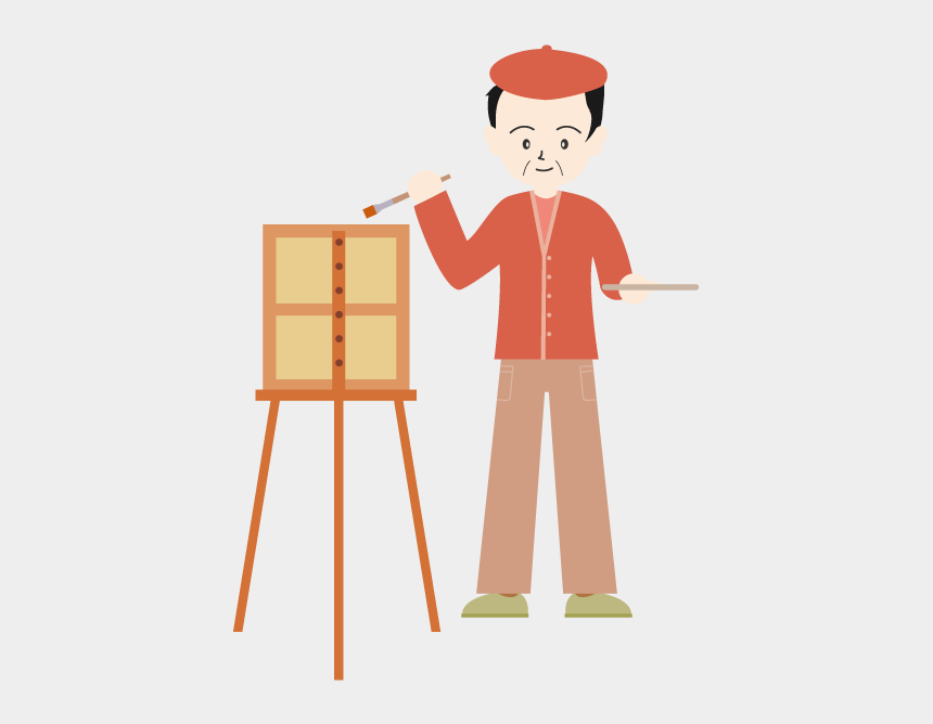 painting easel clipart, Cartoons - View All Images-1 - イラスト