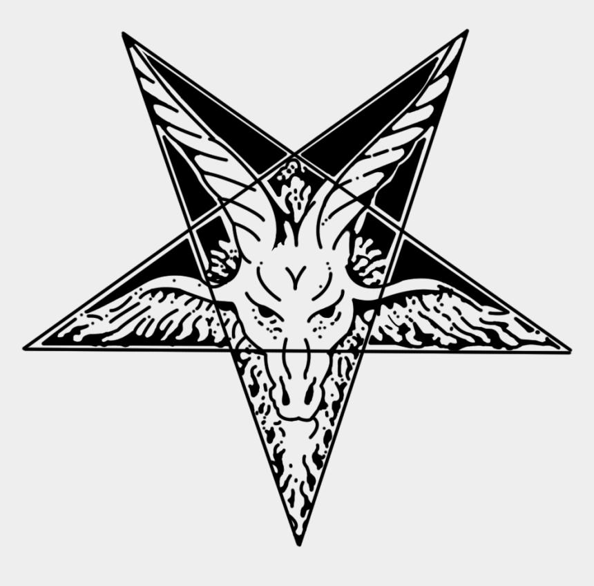 upside down clipart, Cartoons - Pentacle Transparent Upside Down - Goat Head Pentagram Png