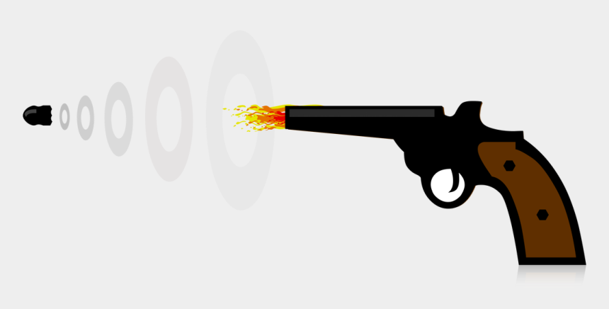 water gun clipart, Cartoons - Clipart Of Trigger - Ranged Weapon