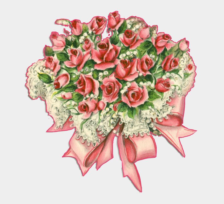 bouquet of flowers clipart, Cartoons - Bouquet Of Roses Clipart Collection - Flower Bouquet