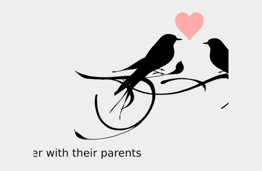 Bridal Clipart Love Birds Black And White Cliparts Cartoons Jing Fm