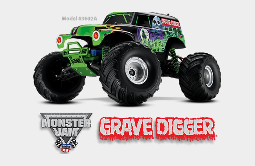 wheels clipart, Cartoons - Hot Wheels Clipart Grave Digger - Traxxas Grave Digger