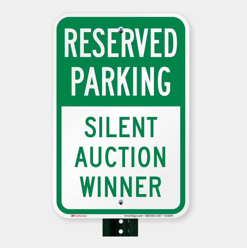 silent auction clipart, Cartoons - Armored Ptc Jumper Silent Auction - Reserved Parking For Auction Winner
