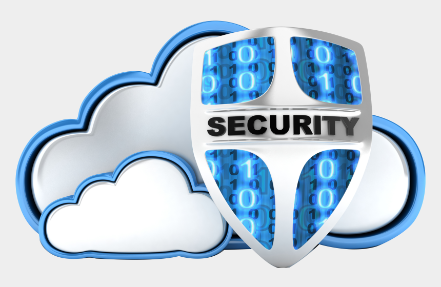 security badge clipart, Cartoons - Security Shield Clipart Security Service - Secure Cloud Storage