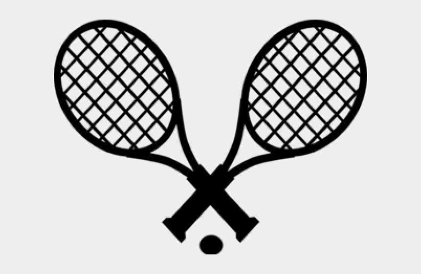 pool balls clipart, Cartoons - Black Tennis Cliparts - Simple Tennis Racket Drawing