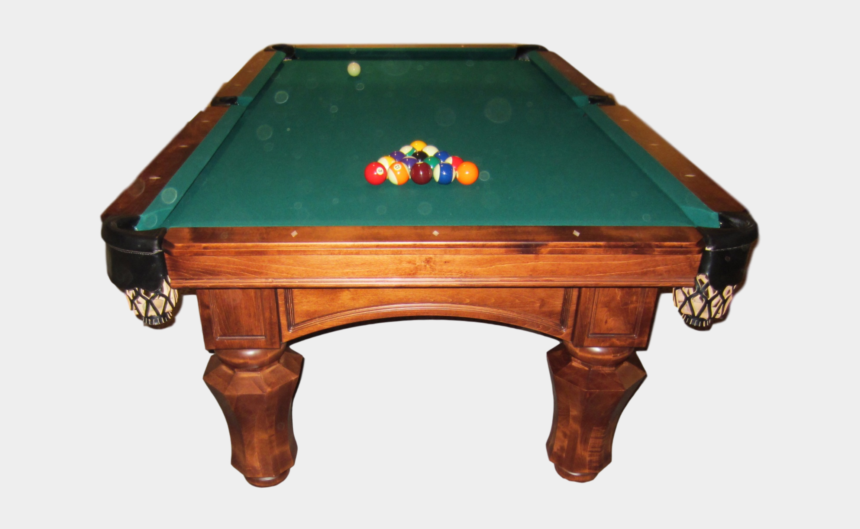 pool balls clipart, Cartoons - Pool Table Png Page - Billiards Table Side View