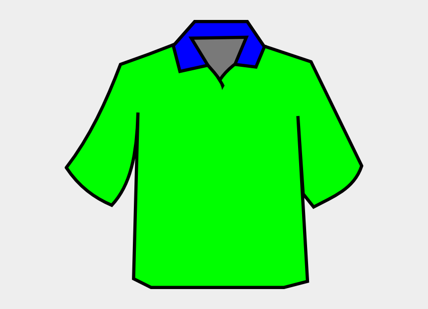 polo shirt clipart, Cartoons - This Free Clip Arts Design Of Green Polo - Collar T Shirt Template Png