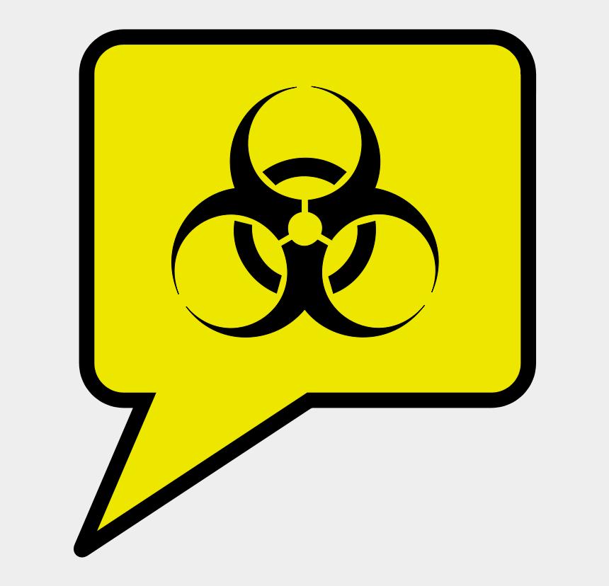 biohazard clipart, Cartoons - Green Biohazard Symbol Png