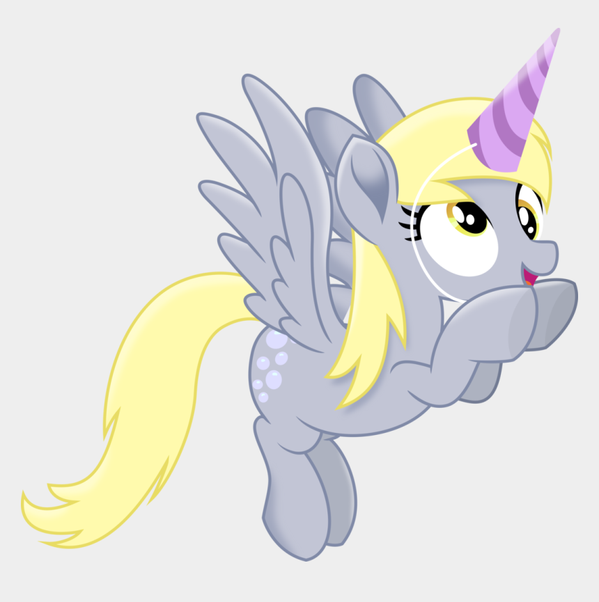 my little pony clipart black and white, Cartoons - My Little Pony Clipart Pegasus Unicorn - My Little Pony The Movie Derpy Hooves