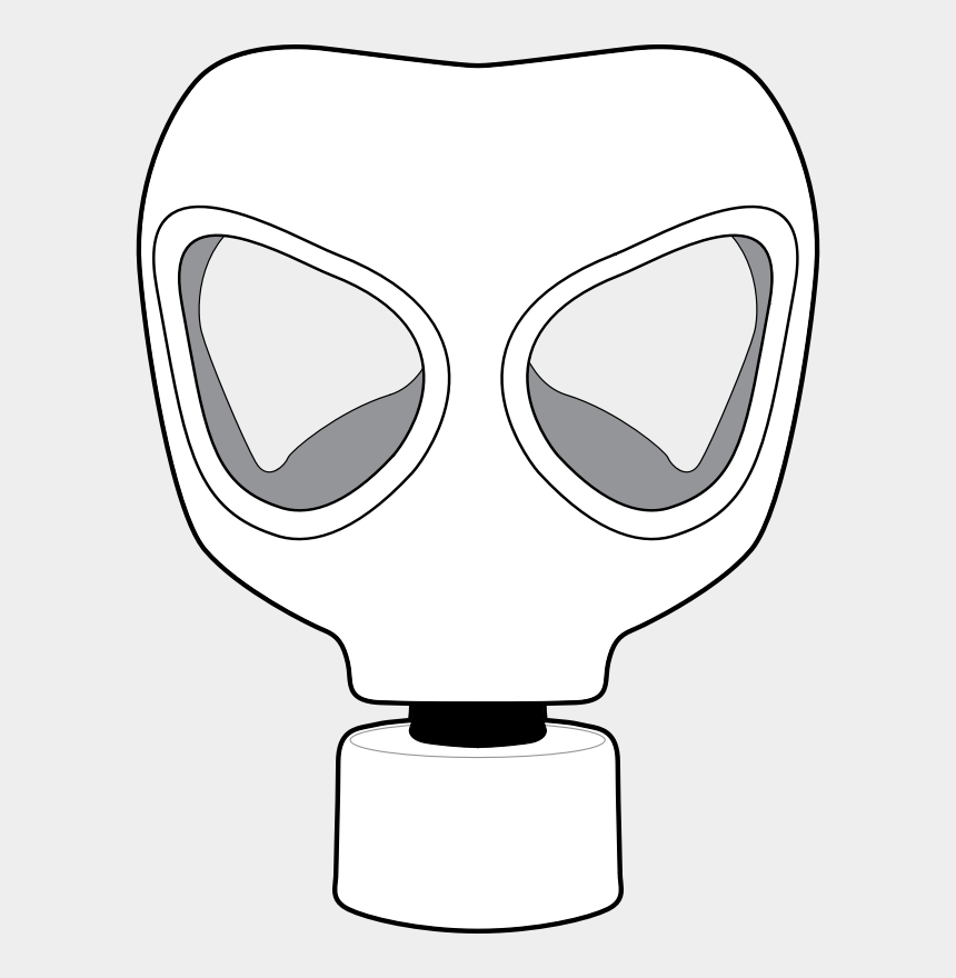 biohazard clipart, Cartoons - Gas Mask Clipart Toxic - Gas Mask Ww2 Drawing