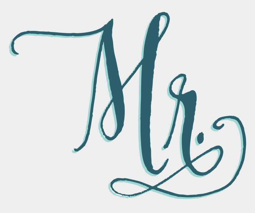 mr & mrs clipart, Cartoons - Your Bag - Calligraphy