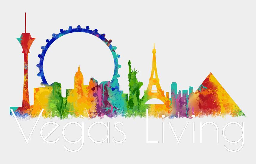 las vegas skyline clipart, Cartoons - Las Vegas Skyline Png - Turn Around Bikes