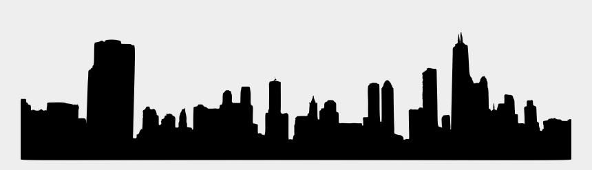 las vegas skyline clipart, Cartoons - Clipart - Generic City Skyline Silhouette