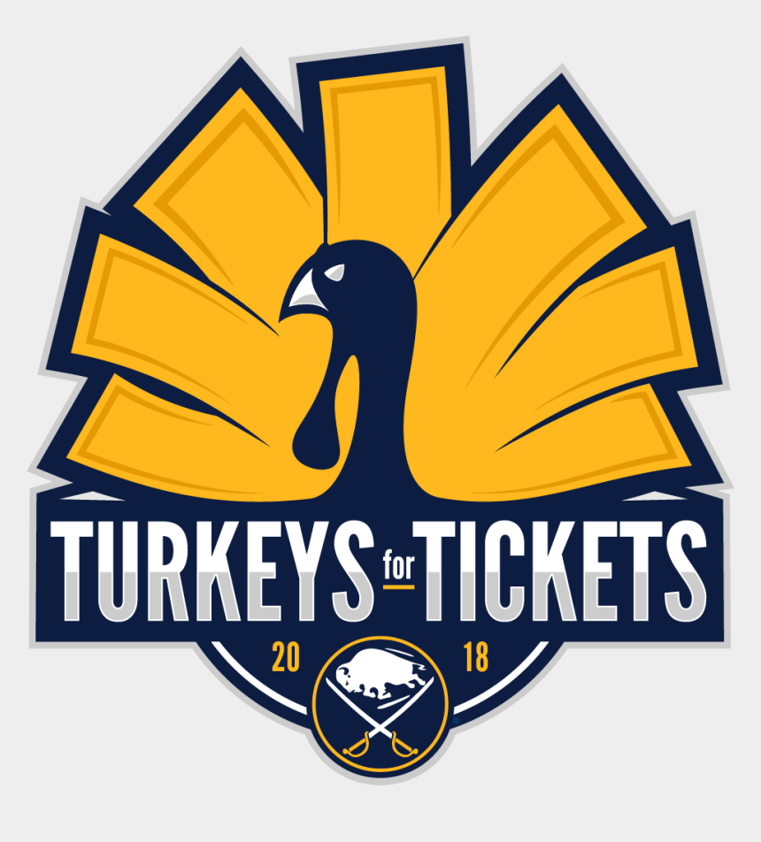 thanksgiving food drive clipart, Cartoons - And All Entercom Buffalo Stations For Another Thanksgiving - Buffalo Sabres Turkey