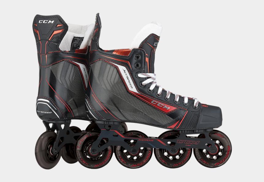 roller skate clipart, Cartoons - Hockey Inline Skates And Equipments - Good Hockey Roller Blades