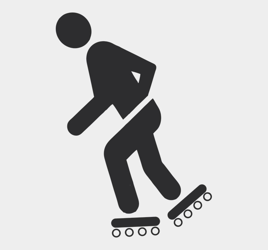 roller skate clipart, Cartoons - Pictogram Scater Inliner Roller Skates - Logo Sepatu Roda