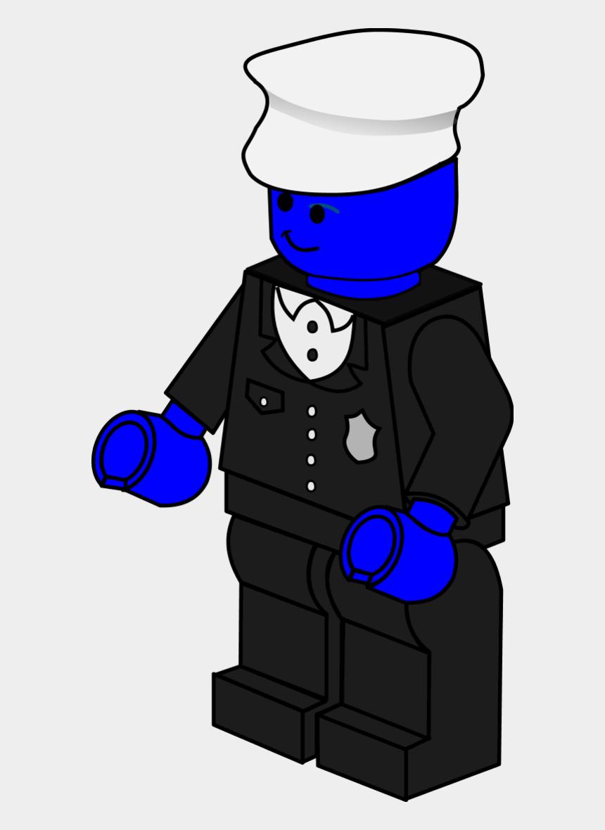 policeman cliparts, Cartoons - Lego Town Policeman - Lego Police Man