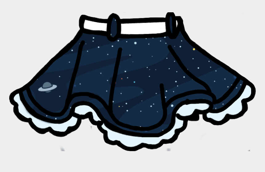 skirts clipart, Cartoons - Gacha Life Clothes Transparent