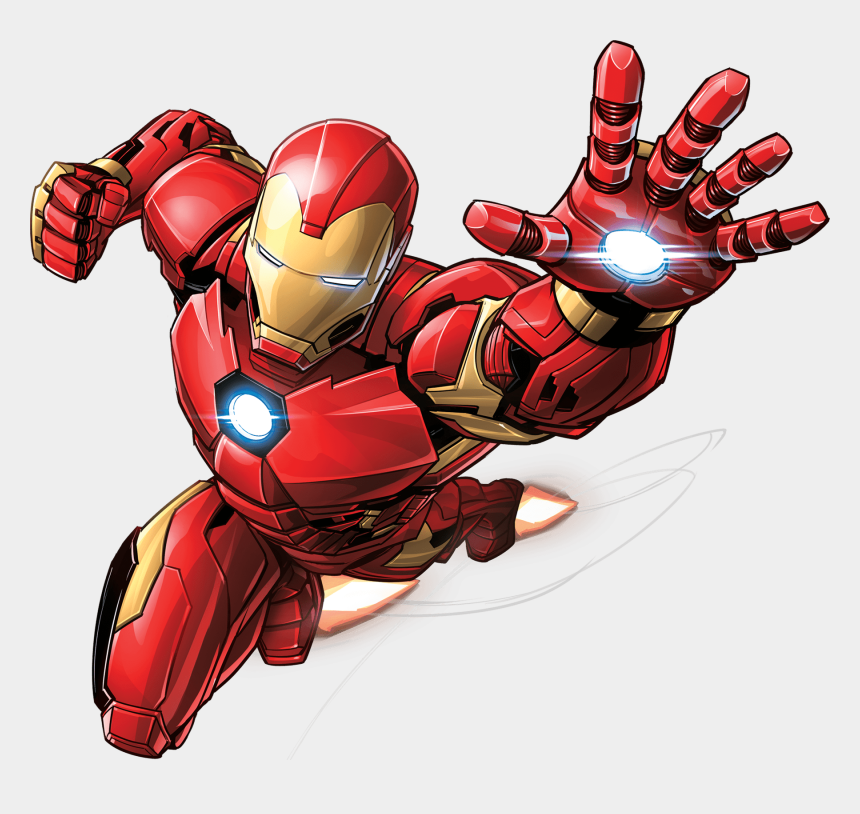 ironman clipart, Cartoons - Flying Iron Man Png Hd