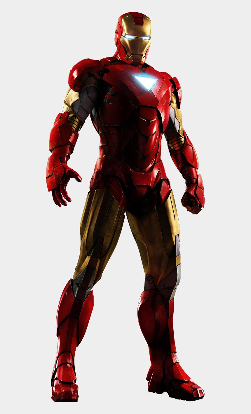 ironman clipart, Cartoons - Iron Man Armor Mark 6