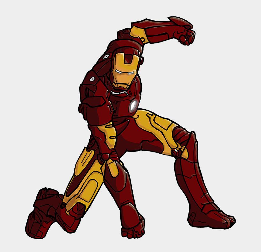 ironman clipart, Cartoons - Iron Man Drawing Color