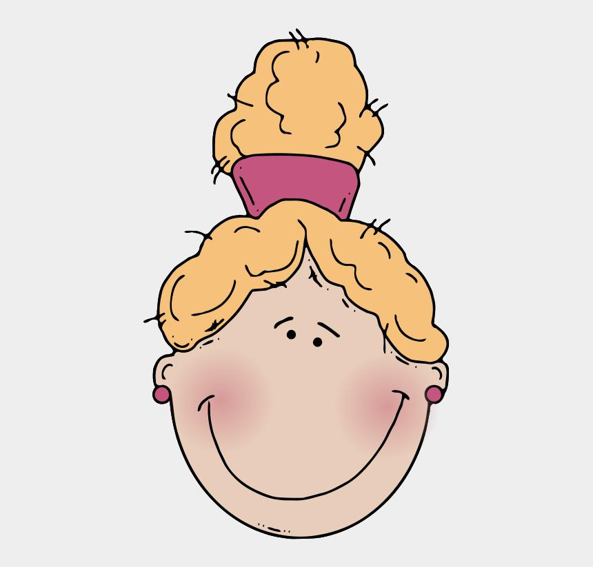 Girlface4 Clip Art Dessin De Jeune Fille Avec Queue De Cheval Cliparts Cartoons Jing Fm