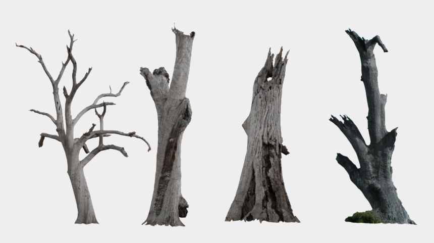 trunk clipart, Cartoons - Ink Chinese Style Dry Branches Decorative Elements - Dead Tree Trunk Png