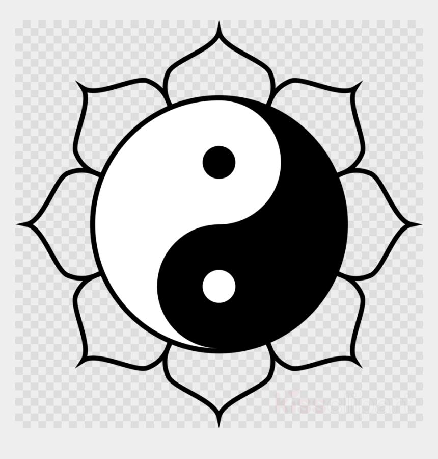 meditating clipart, Cartoons - Download Yin Yang Lotus Clipart Buddhism Yin And Yang - Cool Emoji Coloring Pages